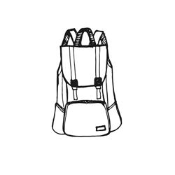 Csatos hátizsák