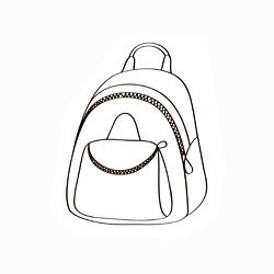 Elegáns hátizsák