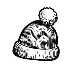 Női téli sapka