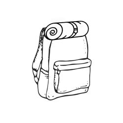 Rolltop hátizsák
