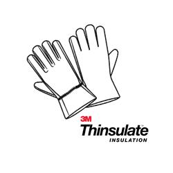 Thinsulate kesztyű