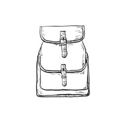 Vászon hátizsák