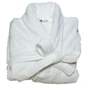 Beardream BD6003 unisex pamut fürdőköntös - fehér