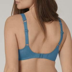 Triumph Venus Elegance W merevítős bikini felső - kék