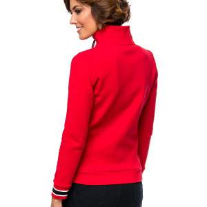 Heavy Tools Taglia női cipzáros pulóver - red