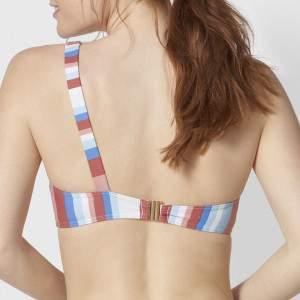 Triumph Sunbeam Lines P csíkos félvállas bikini felső