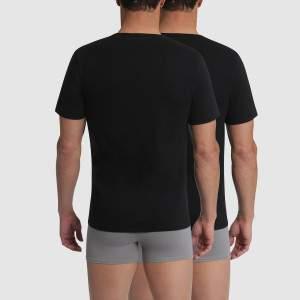 Champion v-nyakú pamut póló csomag - Fekete - 2db