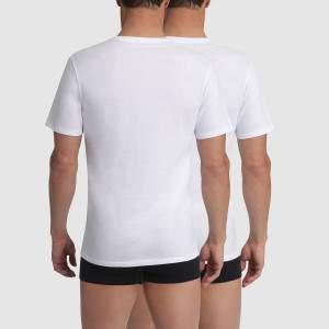 Champion v-nyakú pamut póló csomag - Fehér - 2db
