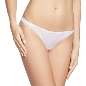 Calvin Klein csipkés tanga - fehér