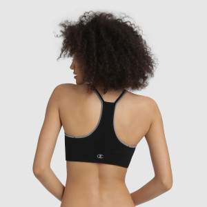 Champion Seamless Fashion Crop Top - fekete