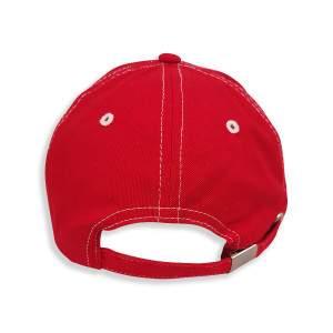 Dressa 3D hímzett baseball sapka - piros