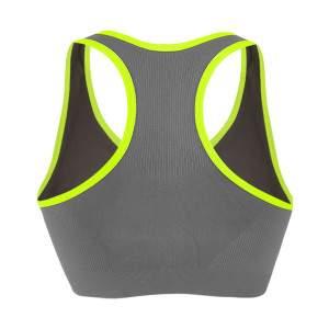 Dressa Active seamless varrás nélküli női top sportmelltartó - szürke