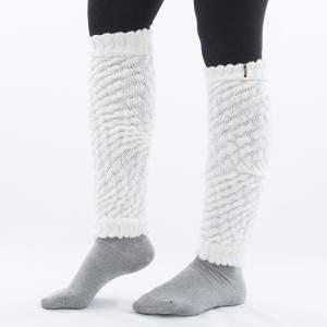 Dressa Aerobic női kötött lábszármelegítő - fehér