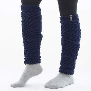 Dressa Aerobic női kötött lábszármelegítő - sötétkék