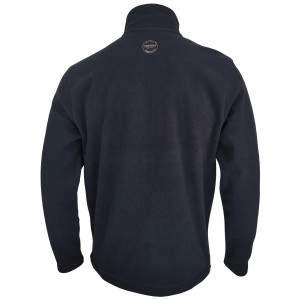 Dressa Basic Thermo cipzáros hosszú ujjú férfi polár pulóver - sötétkék