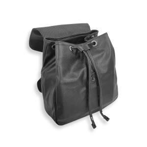Dressa Casual női műbőr mini hátizsák - fekete
