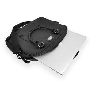 Dressa DRS elegáns 13 colos laptop irattáska - fekete