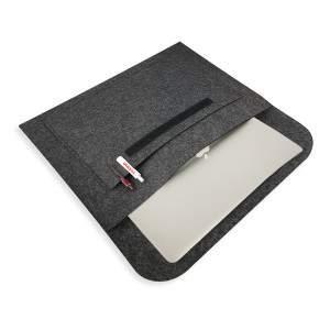 Dressa DRS filc A4 mappa és laptop tartó - sötétszürke