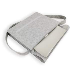 Dressa filc A4 mappa és laptop tartó válltáska