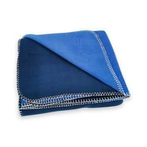 Dressa Home kockás polár takaró 150x200 cm - kék
