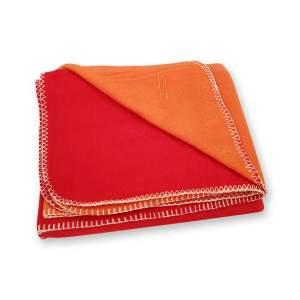 Dressa Home kockás polár takaró 150x200 cm - piros