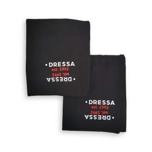 Dressa hosszú női derékmelegítő csomag - fekete - 2db