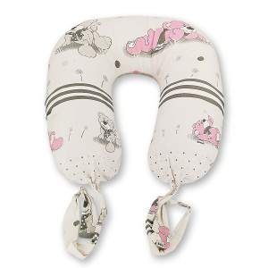 Dressa Maternity állatmintás szoptatós párna - szürke