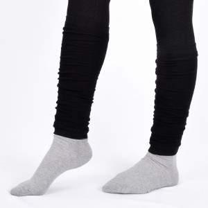 Dressa pamut lábszármelegítő - fekete