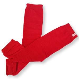 Dressa pamut lábszármelegítő - piros