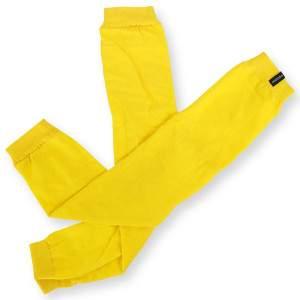 Dressa pamut lábszármelegítő - sárga