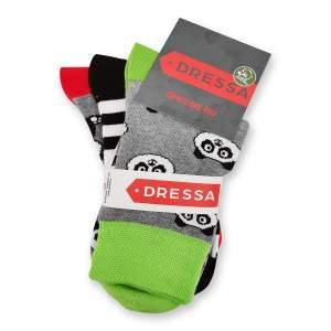 Dressa pandás zokni - 3 pár