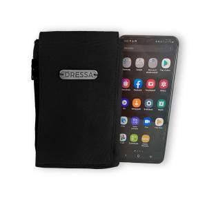 Dressa Phone nyakba akasztható övre fűzhető univerzális telefontok - fekete