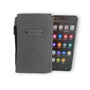 Dressa Phone nyakba akasztható övre fűzhető univerzális telefontok - szürke