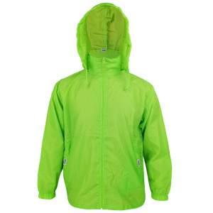 Dressa Sport kapucnis széldzseki esőkabát - lime