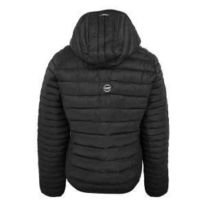 Dressa Sport steppelt női könnyű tokba hajtható kapucnis dzseki - fekete
