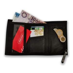 Dressa tépőzáras pénztárca - fekete