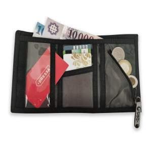Dressa tépőzáras pénztárca - szürke