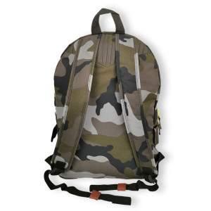 Dressa terepmintás hátizsák oldalsó patentos zsebekkel - camo