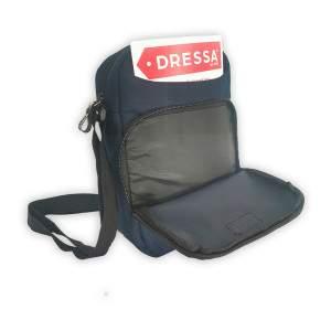 Dressa Travel tablet tartós mini válltáska - sötétkék