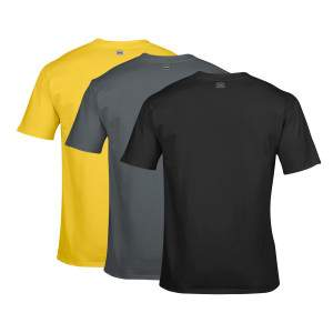 Dressa Work környakú rövid ujjú pamut póló csomag - 3 db
