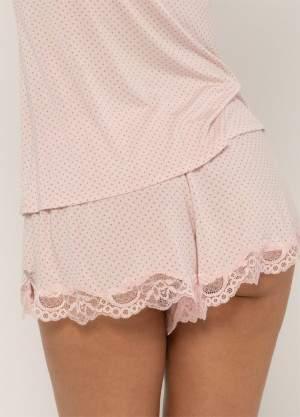 Dorina Eleni pöttyös pizsama alsó