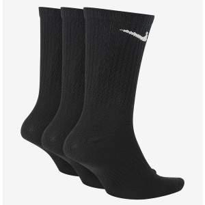 Nike Everyday Lightweight Crew zokni - fekete - 3 pár
