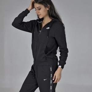 Nike W NSW HOODIE FZ FLC női kapucnis melegítő felső - fekete