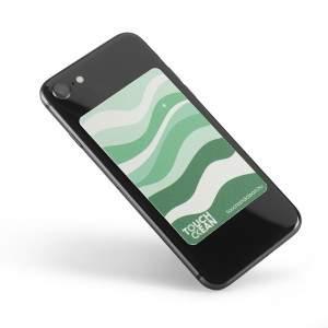Touch & Clean száraz fertőtlenítő matrica telefonra