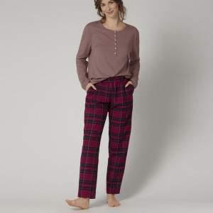Triumph Mix & Match Tapered Trouser Flannel X női pizsama alsó