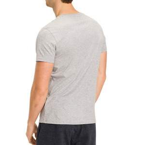 Tommy Hilfiger férfi pamut póló - szürke