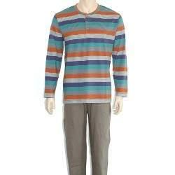 Oneway 2322 csíkos férfi pizsama