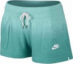 Nike Gym Vintage női utcai rövidnadrág - kékeszöld
