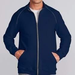 Gildan 92900 unisex cipzáros pulóver