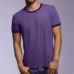 Anvil AN988 Basic Ringer férfi rövid ujjú póló